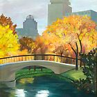 Boston Public Garden by Barbara Weir