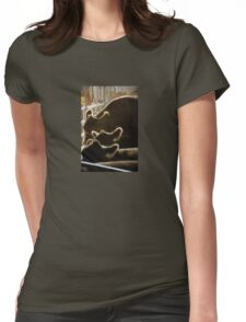 Backlit Bovine Womens Fitted T-Shirt