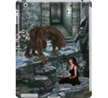 Werewolf and the Maiden iPad Case/Skin