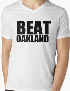 San Francisco Giants - BEAT OAKLAND Mens V-Neck T-Shirt