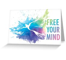 Free Your Mind - Dove Greeting Card