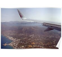Heraklion From Above Poster