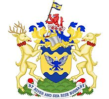 Burnaby Coat of Arms  Photographic Print