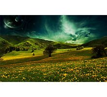 Landscape - Green Photographic Print