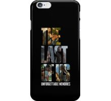 The Last of us Unforgettable Memories iPhone Case/Skin