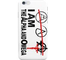ALPHA OMEGA - THE GREAT PRETENDERS iPhone Case/Skin