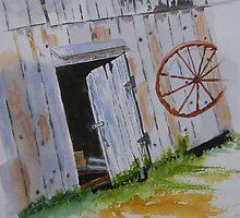 The Barn Door by Warren  Thompson