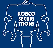 RobCo Securitrons by claygrahamart