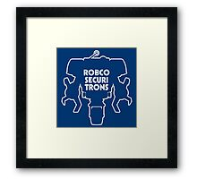 RobCo Securitrons Framed Print