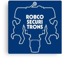 RobCo Securitrons Canvas Print