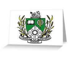 Saskatoon Coat of Arms Greeting Card