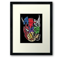Avengers - The age of ultron - All in one II Framed Print