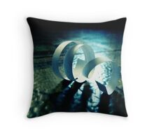 twist of events Throw Pillow