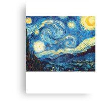 Starry Night Vincent Van Gogh Canvas Print