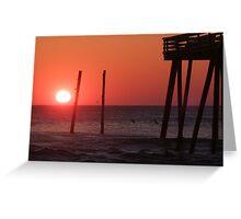 Sunrise at Kitty Hawk Greeting Card