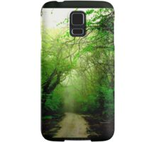 Misty Morning in the Forest Samsung Galaxy Case/Skin