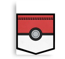 PocketMon Trainer (Pokemon) Canvas Print
