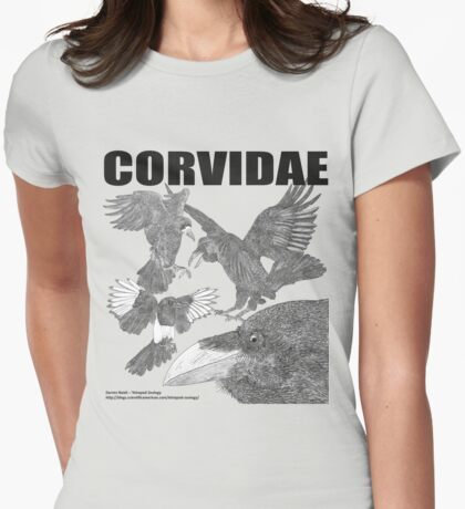 CORVIDAE Womens Fitted T-Shirt