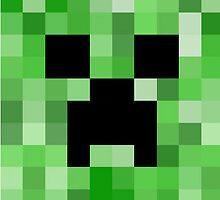 Creeper Face by Kingaaron2000
