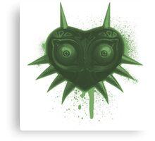 Majora (Green) Canvas Print