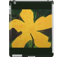 My Yellow Mystery Flower iPad Case/Skin