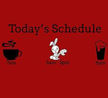 Today's Schedule by fancytees
