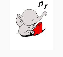 Baby Elephant Playing A Piano Tank Top