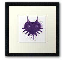 Majora (Violet) Framed Print