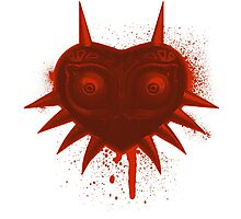 Majora (Red) Photographic Print