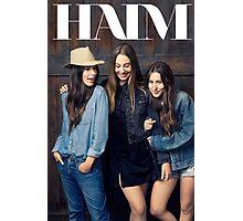 HAIM levis Photographic Print
