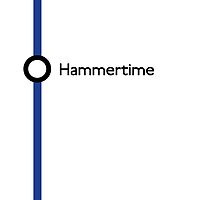 Hammertime station by Oliver Peace