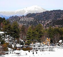 Mirror Lake Inn, Village of Lake Placid NY > by John Schneider