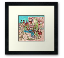 Listen To Me Brother Framed Print