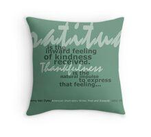 Natural Impulse Throw Pillow
