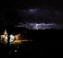 A Stormy April Nite at Rock Hollow by Dennis Jones - CameraView