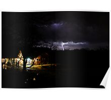 A Stormy April Nite at Rock Hollow Poster