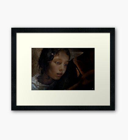 Hoping for Hannah Framed Print