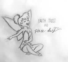Faith, Trust and Pixie-Dust Inspired Artwork by PurpleCats9498
