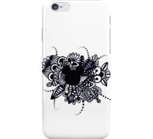 Zentangle Disney Mickey Mouse iPhone Case/Skin