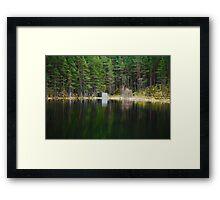 Loch, Aberdeenshire Framed Print