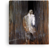Human Form by Francis Bacon Canvas Print