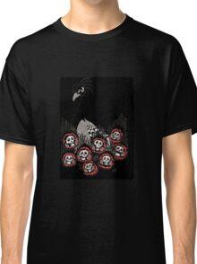 Alternative Peacock of Doom (black) Classic T-Shirt