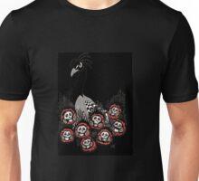 Alternative Peacock of Doom (black) Unisex T-Shirt