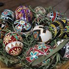 Painted Easter Eggs by TheKoopaBros