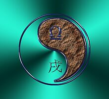 Libra & Dog Yang Earth by astrodesigner75