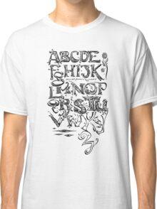 "'Alphabet"" Classic T-Shirt"