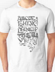 """'Alphabet"""" T-Shirt"""