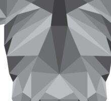 Geometric Rhino Sticker