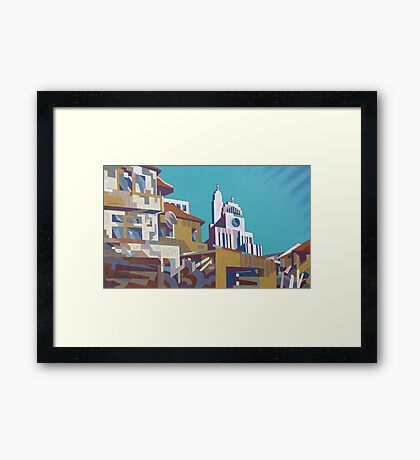 Toccata of the Small Town Framed Print