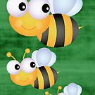 Busy Bee by ginaellen